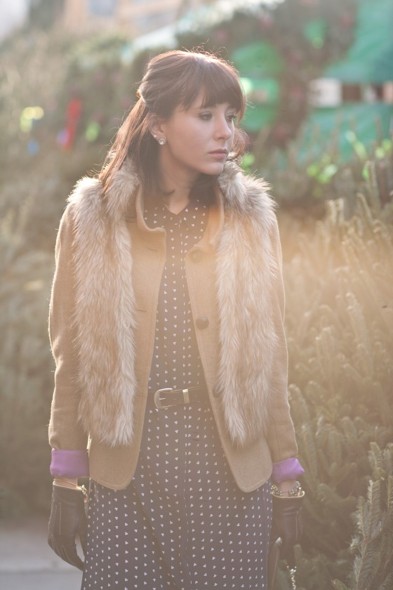 J.Crew coat and Fur