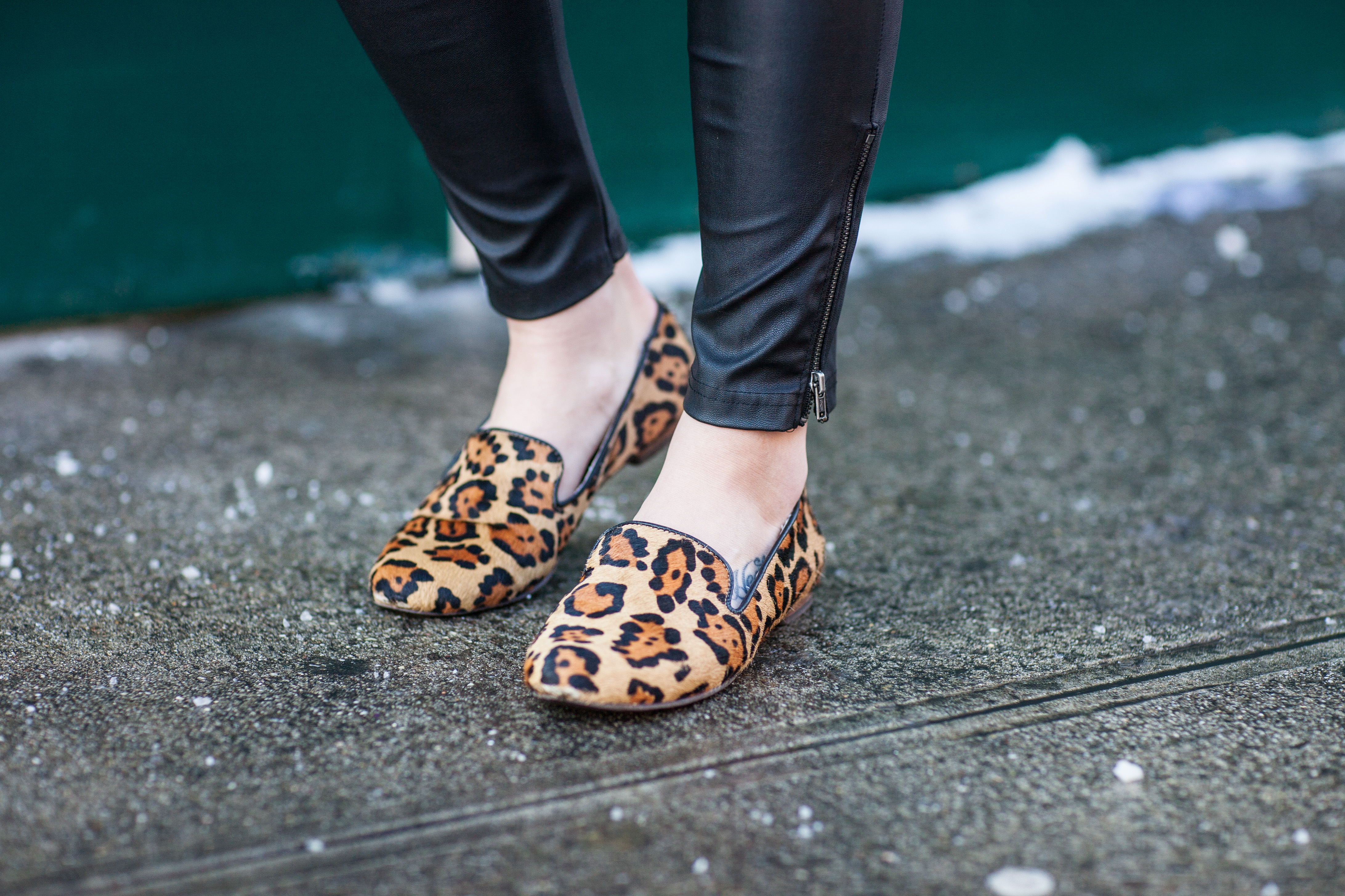 Leopard loafers, Steve Madden, Style blog