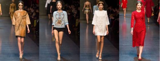 Dolce and Gabbana, Fall 2013