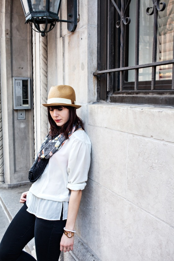 Straw fedora, Florals, Spring Fashion
