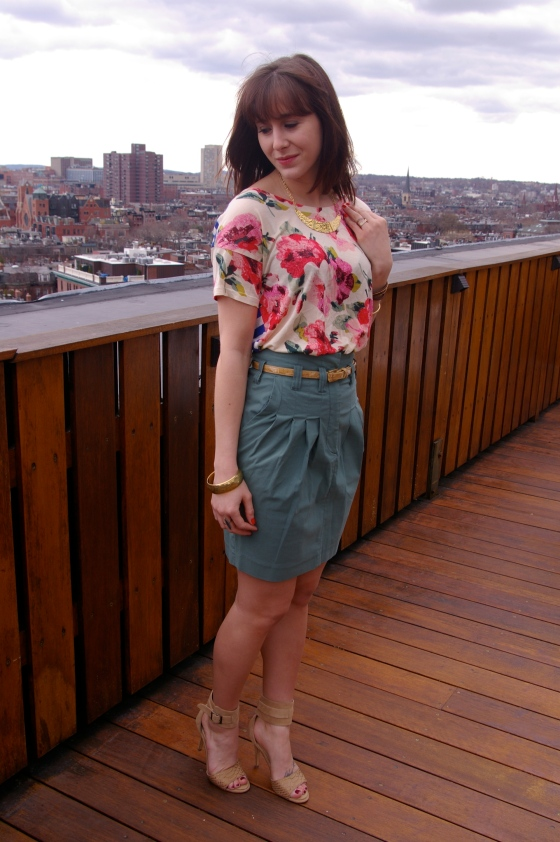 Personal style blog, Spring fashion, Madewell tee