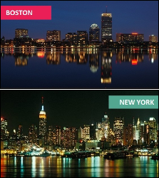 Boston vs. New York City