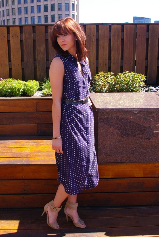 Boston fashion, Summer style, Midi-dress