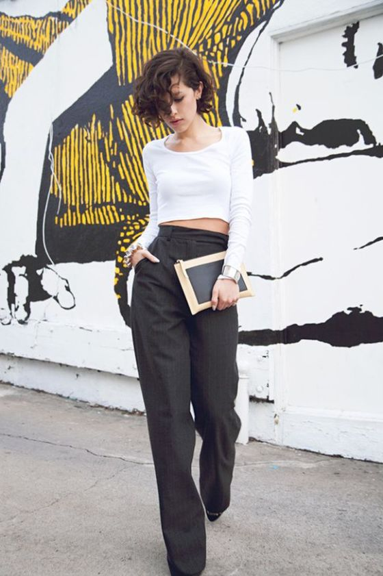 Karla's Closet, blogger fashion, Crop top