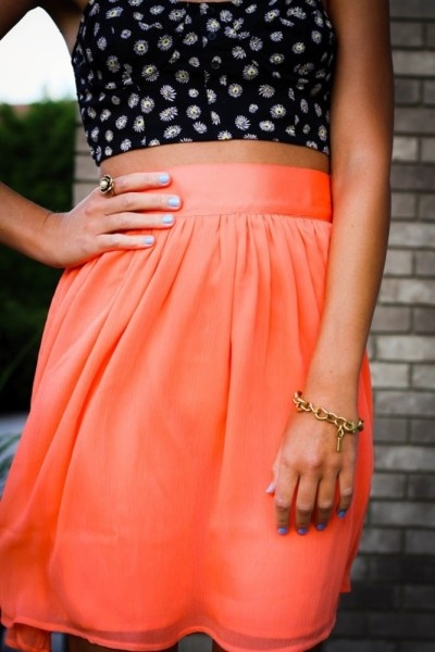 Summer fashion, Crop top trend, Street style