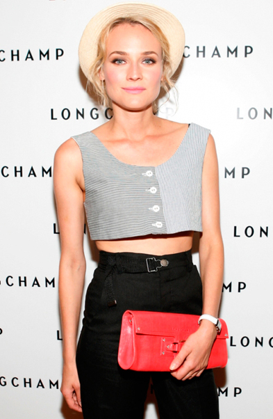 Diane Kruger, Crop top, Red carpet fashion