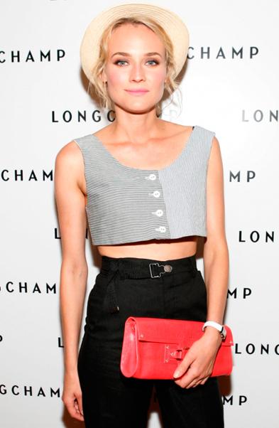 Diane Kruger, Crop top, Red carpet fashion