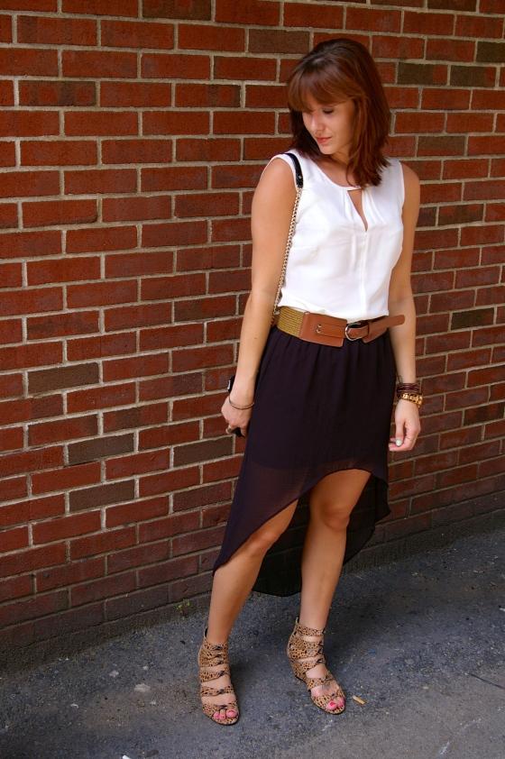 NIC+ZOE Keyhole top, Summer fashion, Boston blogger
