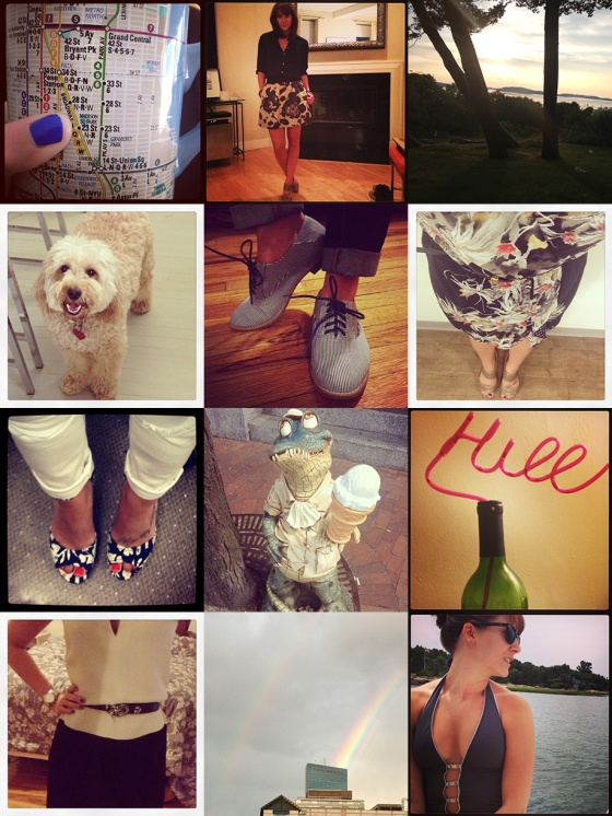 Instagram, what I wore, blog life